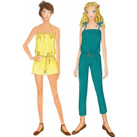 Citronille Pattern N°207ter Overall Tabatha. Sizes36 to 44