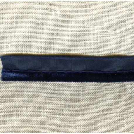 Velvet Piping, col. Blue Ink
