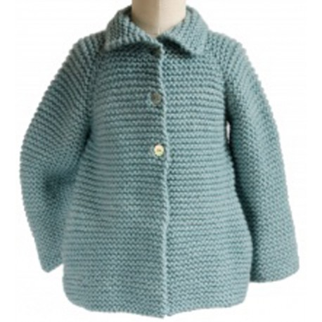 CITRONILLE knitting pattern N°65, Vest with raglan sleeves