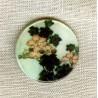 Printed mother-of-pearl, Kimono
