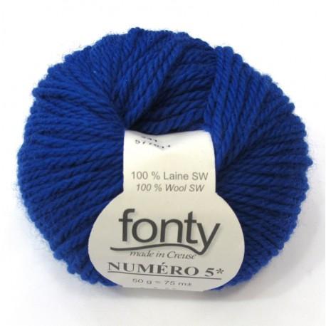 FONTY wool knitting yarn qual. NUMERO 5, col. Klein 241