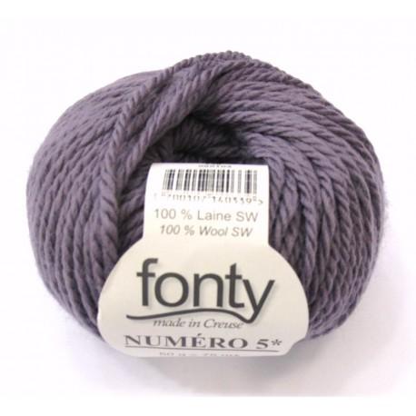 FONTY wool knitting yarn qual. NUMERO 5, col. Marshmallow 248