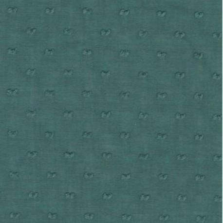 Swiss muslin cotton, col. Mallard Duck