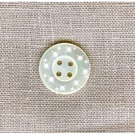 Constellation Mother-of-pearl shirt button
