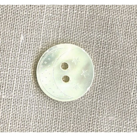 Pierrot la Lune Mother-of-pearl shirt button