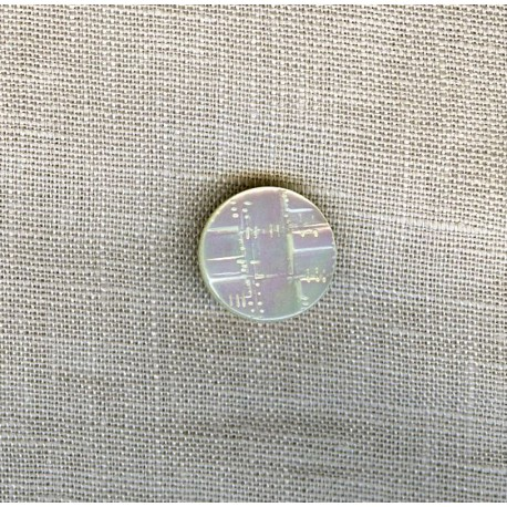 Network Mother-of-pearl shirt button