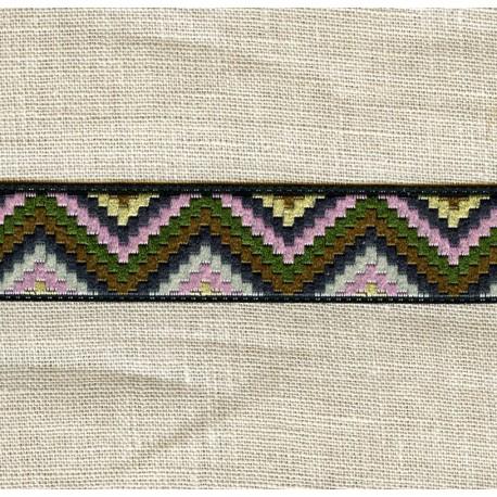 Sioux Jacquard Ribbon, col. Tender