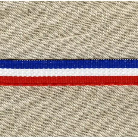 French Flag grograin ribbon