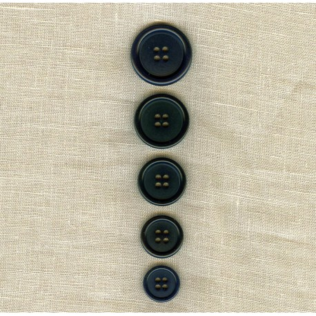 """""""Costard""""Corozo Suit Button, col. Black"""