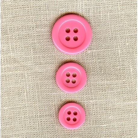 "Polyester Button ""colors"", col. Barbapapa"