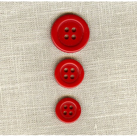 """Polyester Button """"colors"""", col. Opera"""