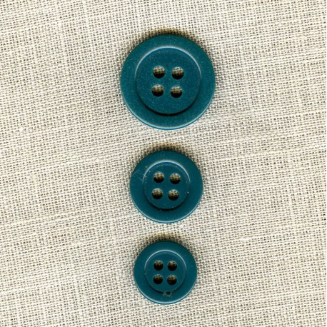 """Polyester Button """"colors"""", col. Duck"""
