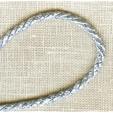 Lurex Cord – Diameter 3mm. Col. Silver