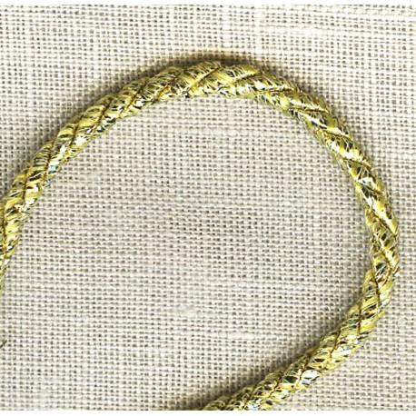 Lurex Cord – Diameter 3mm. Col. Gold