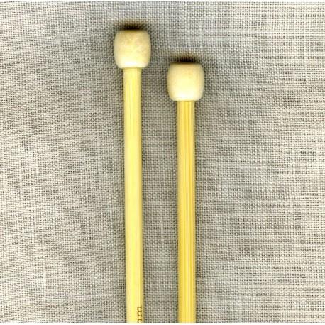 Bamboo knitting needles (35cm)