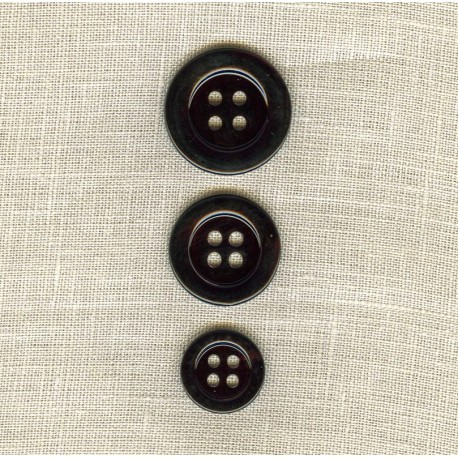 Black Mother of Pearl Suit Button