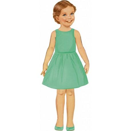 Citronille Pattern N° 214 Marguerite Dress. Ages 2. 4. 6. 8 a