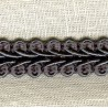 Interlacing Big braid, Slate 38