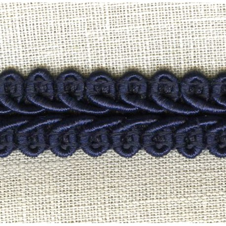 Interlacing Big braid, Blue Ink 23