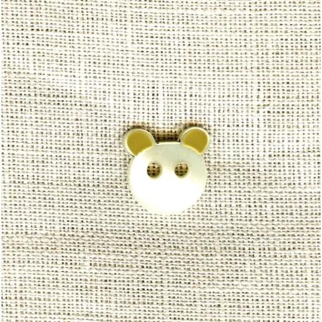 Children Button Les Petits Amis, L'ourson Vanille