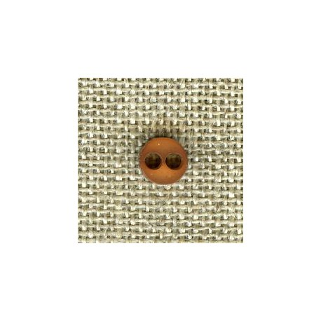 Chocolate double face matt/bright button of doll