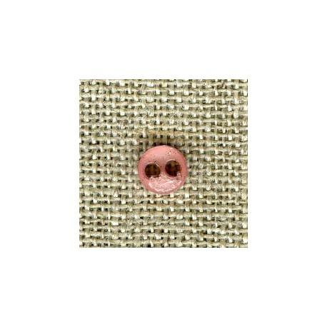 Oleander double face matt/bright button of doll