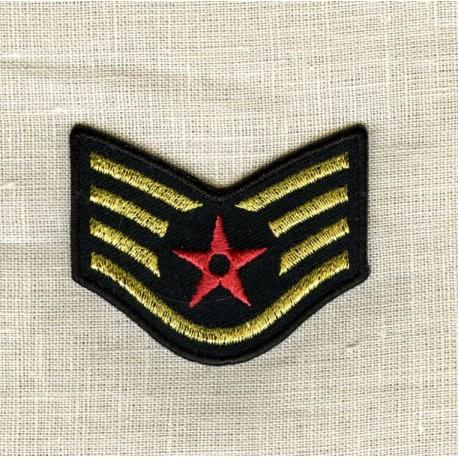 Hot-Melt Motif Red Star Sergent