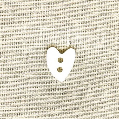 Mother of Pearl Button Love, col. Naturel