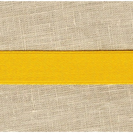 Mat Satin Ribbon Smooth, col. Mustard 287
