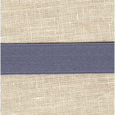 Mat Satin Ribbon Smooth, col. Blue Slate 361
