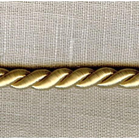 Passementerie Cordelière - Diamètre 5mm. Col. Mastic 304