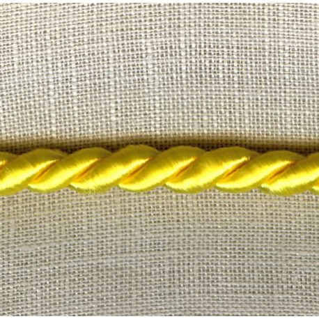 Cord – Diameter 5mm. Col. Lemon 220
