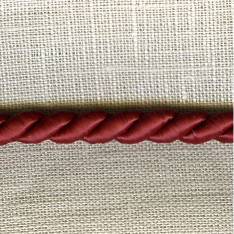 Cord – Diameter 5mm. Col. Bordeaux 209