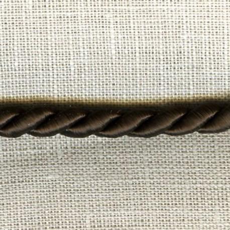 Passementerie Cordelière - Diamètre 5mm. Col. Chocolat 247