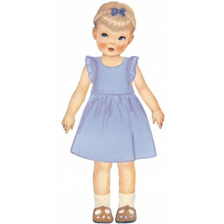Citronille Pattern N° 217 Dress Airelle. Ages 2. 4. 6. 8 a