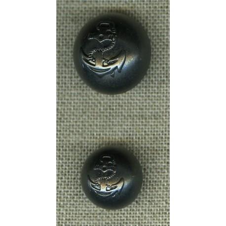 bouton bomb dessin ancre carbone la mercerie parisienne. Black Bedroom Furniture Sets. Home Design Ideas