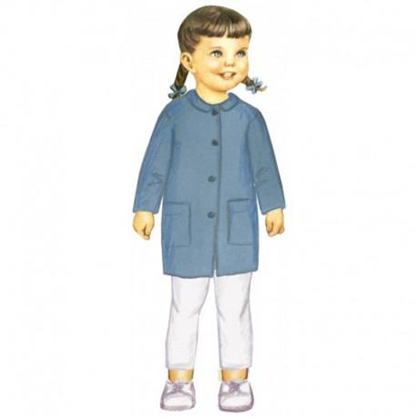 Citronille Pattern N° 211 Coat Domitille. Ages 2. 4. 6. 8 a
