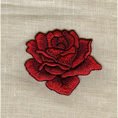 Hot melt Motif, La Rose Rouge