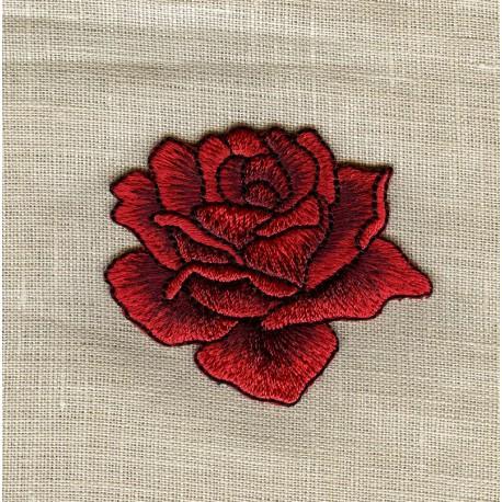Ecusson La Rose Rouge
