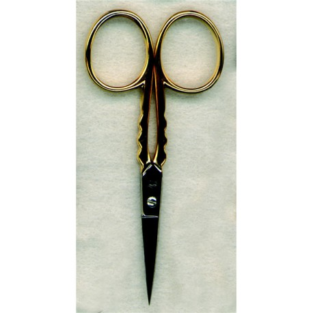 Gold Naperon design embroidery scissors
