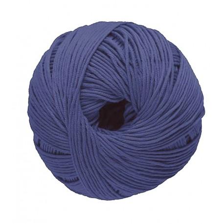 Dmc Cotton Knitting NATURA, col. Electric Blue 112