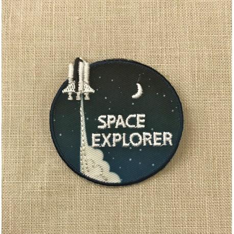 Ecusson Space Explorer