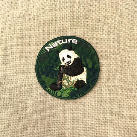 Ecusson Jungle Panda