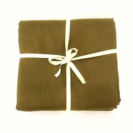 Bronze Linen, 3 Meters Fabric Coupon