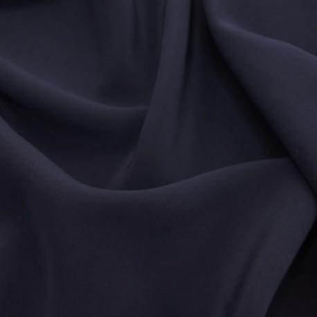 Silk Fabric, Col. Midnight Blue