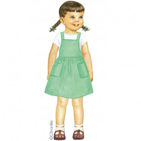 Citronille Pattern N° 220, Dress Marion. Ages 2. 4. 6. 8, 10 a