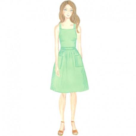 Citronille pattern N°220ter, Dress Marion . Sizes 34 au 40
