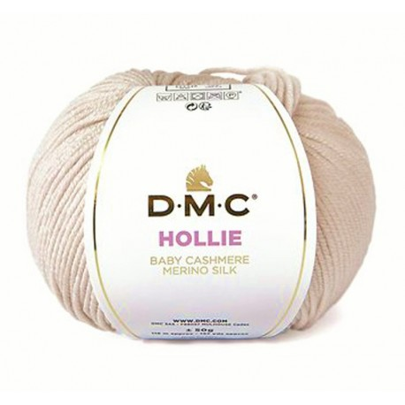 Dmc knitting yarn, qual. HOLLIE, col. Petal 573