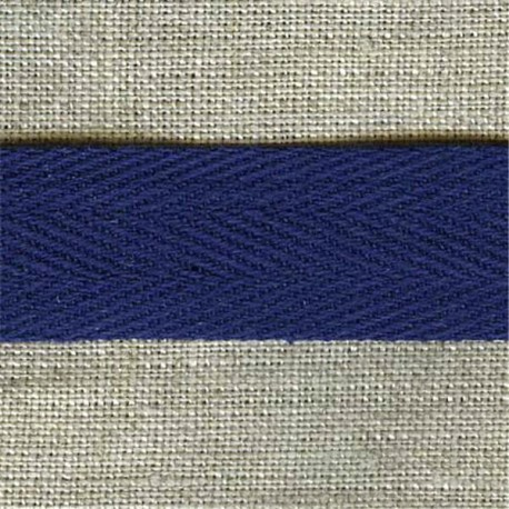 Cotton serge, col. Indigo 24