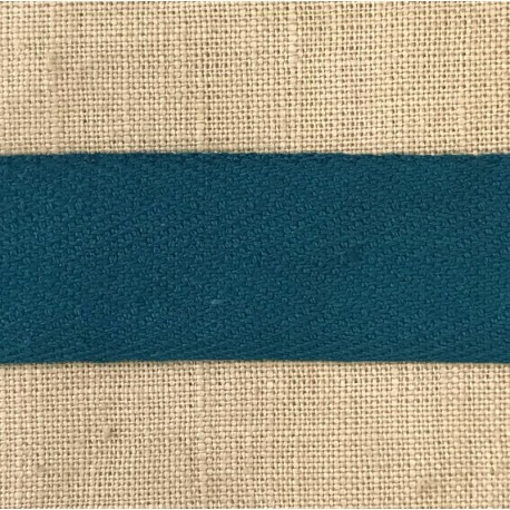 Cotton Serge, col. Peacock Blue 126